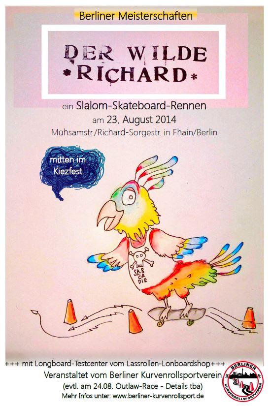 Plakate der wilde richard